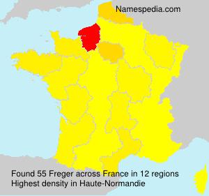 Surname Freger in France