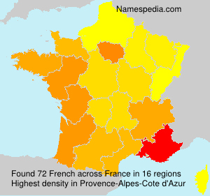 Surname French in France