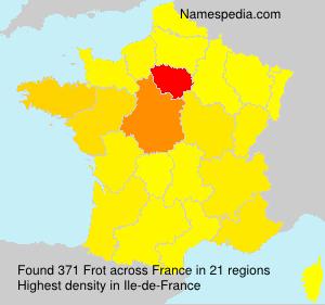 Familiennamen Frot - France