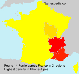 Surname Fucile in France