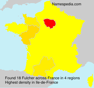 Surname Fulcher in France