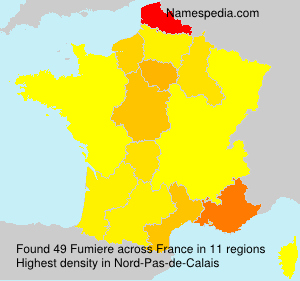 Surname Fumiere in France