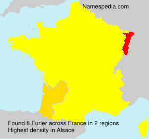 Surname Furler in France