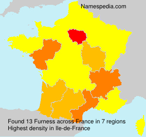 Surname Furness in France