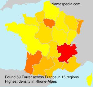 Familiennamen Furrer - France