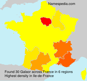 Familiennamen Galaor - France