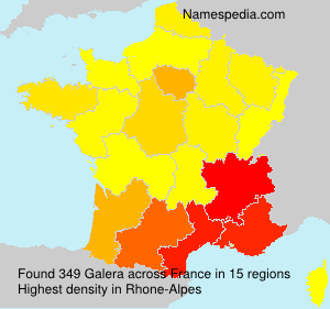 Surname Galera in France