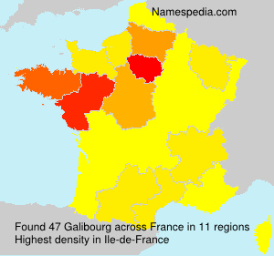 Surname Galibourg in France