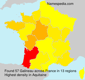 Surname Galineau in France