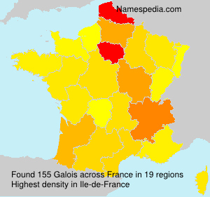 Surname Galois in France