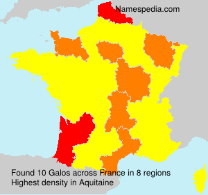 Surname Galos in France