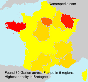 Surname Garion in France