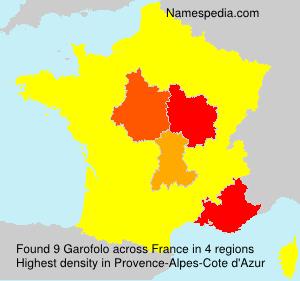 Familiennamen Garofolo - France