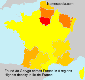 Surname Garyga in France
