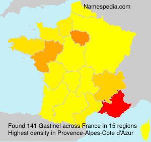 Surname Gastinel in France