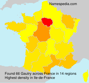 Surname Gautry in France