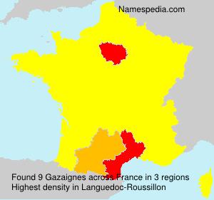 Gazaignes