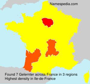 Familiennamen Gelernter - France