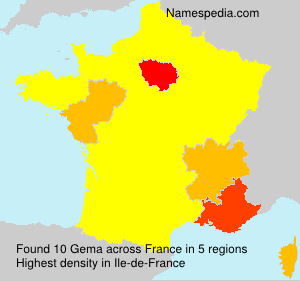 Surname Gema in France