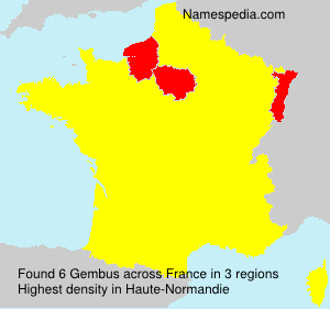 Surname Gembus in France