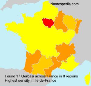 Surname Gerbasi in France