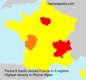 Surname Gerlic in France
