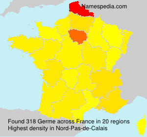 Surname Germe in France