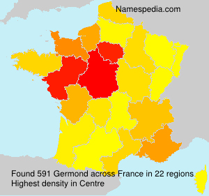 Surname Germond in France