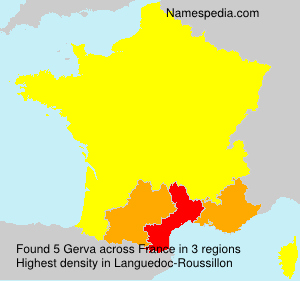 Surname Gerva in France