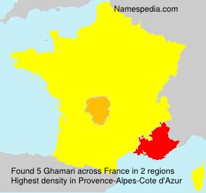 Surname Ghamari in France