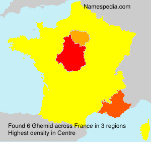 Surname Ghemid in France