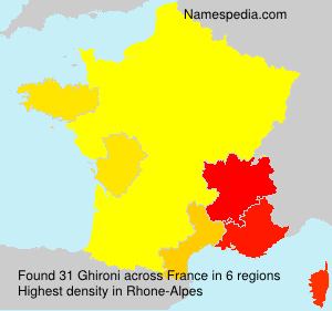 Surname Ghironi in France