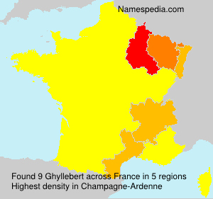 Surname Ghyllebert in France