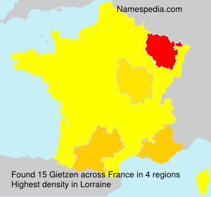 Gietzen - Names Encyclopedia