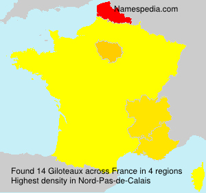 Surname Giloteaux in France