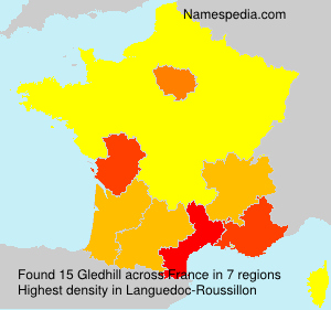 Surname Gledhill in France