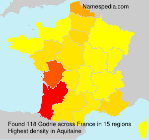 Surname Godrie in France