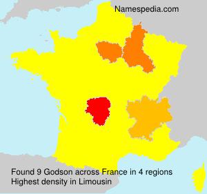 Surname Godson in France