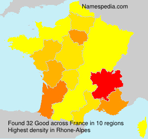 Surname Good in France