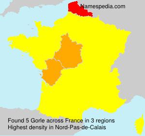 Familiennamen Gorle - France