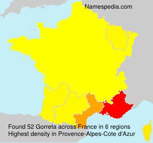 Gorreta - France