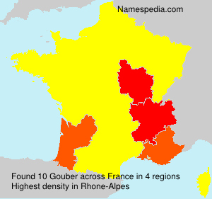 Surname Gouber in France