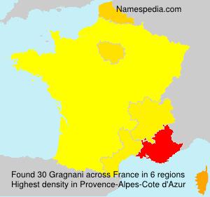 Surname Gragnani in France