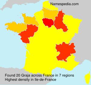 Surname Graja in France