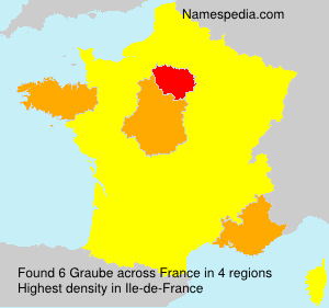 Surname Graube in France
