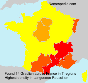 Surname Graulich in France