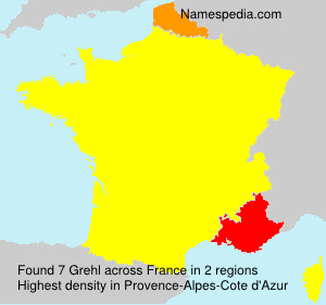 Surname Grehl in France