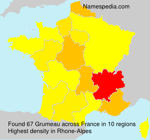 Surname Grumeau in France