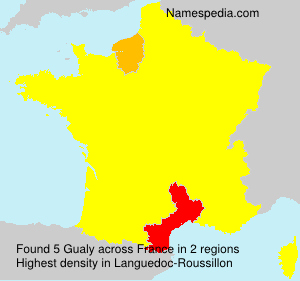 Surname Gualy in France