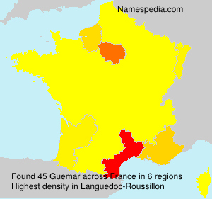 Surname Guemar in France